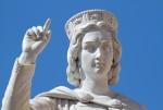 Monumento ad Eleonora d'Arborea.