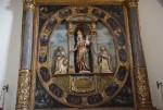Chiesa e Convento di San Martino. Particolare cappella della Madonna del Rosario