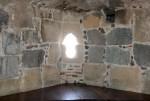 Feritoia dall'interno della Torre di Portixedda