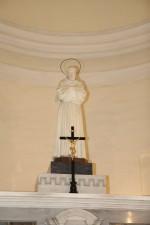 Chiesa e convento di San Francesco - statua di San Francesco