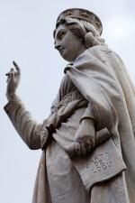 Il monumento a Eleonora d'Arborea