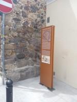 Progetto tracciato antiche mura medievali - via Mazzini (in prossimità della torre di Portixedda)